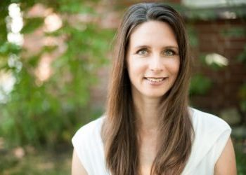 Yogalehrerin Michaela Wendt